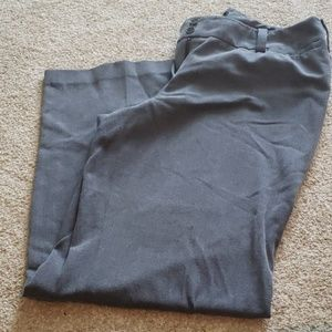 Pants - Heather grey slacks